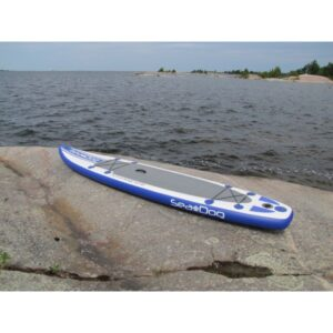 "side view of Sea Dog 12'6"" paddleboard"
