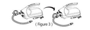 electrict pump deflation illustration