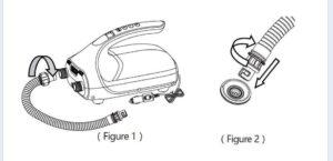 electric air pump illustration